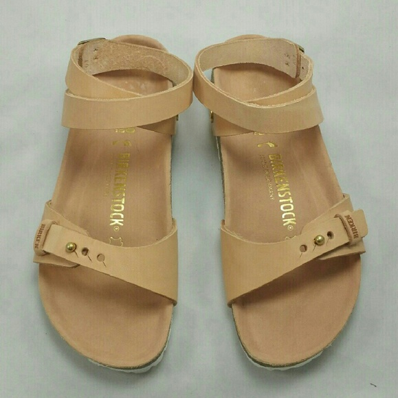 b71e52e23fe Birkenstock Delhi Wrap Natural Powder Sandals 7N